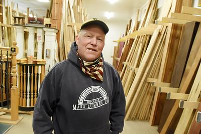 Buck Sarver of Mars Lumber. Harold Aughton/Butler Eagle.