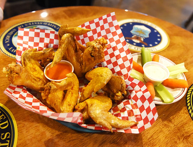 Wings are still being served at the American Legion for members and guests only. Harold Aughton/Butler Eagle.