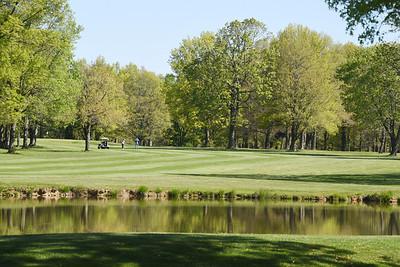 Saxony Golf, #1 fairway.  Harold Aughton/Butler Eagle