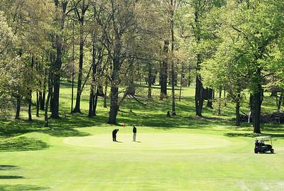 Saxony Golf, par 3. #11 Harold Aughton/Butler Eagle