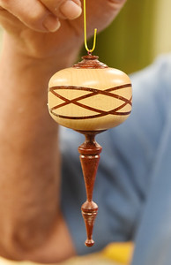 Since moving into the Concordia Haven apartments, Jack Brown has taken full advantage of the woodshop making Christmas ornaments for his neighbors to wig stands for cancer patients at the Butler Memorial Hospital.
