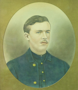 Portrait of one of the four Alwine brothers, Civil War veterans from Butler County. It is unknown which brother is in the image. (Submitted/ Reproduced by Seb Foltz)