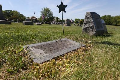 Grave of John Burtner in the Summit United Presbyterian Cemetery near Saxonburg. Burtner was a Civil War veteran from Butler County. Seb Foltz/Butler Eagle May 2021