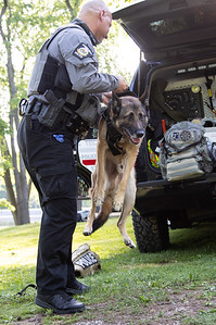 Patrolman Mark Heider & Mibu K9 Training Exercise