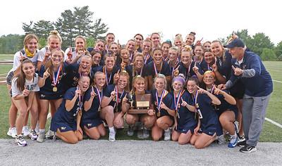 2021 WPIAL AA champion Mars Girls Lacrosse team. Seb Foltz/Butler Eagle May 2021