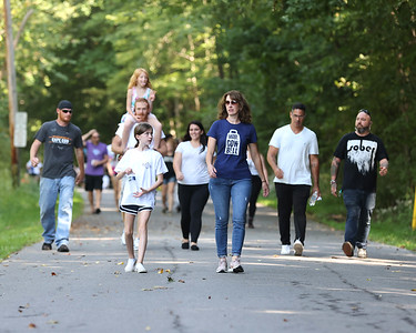 Family, friends and those recovering from addiction participated in Saturday's Butler County Recovery Walk and Picnic at Memorial Park. The event which featured speakers games and support organization booths was hosted by Butler County Human Services. Seb Foltz Butler Eagle 09/18/21