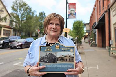 Sue Barkley, Slippery Rock Heritage Association. Seb Foltz/Butler Eagle