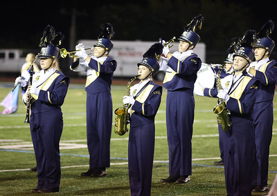 Knoch marching band players perform at the Butler County Band Festival Wednesday. Seb Foltz/Butler Eagle 09/29/21