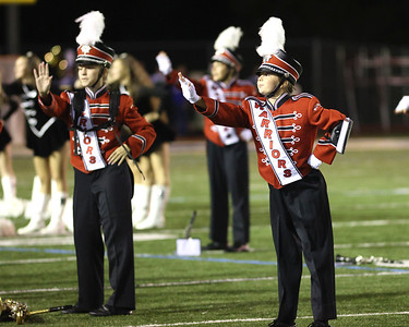 Moniteau band members dance to NSYNC at the Butler County Band Festival Wednesday. Seb Foltz/Butler Eagle 09/29/21