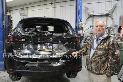 Harold Aughton/Butler Eagle: Baglier Collision Cente, Body Shop Manager Norm Nesbitt