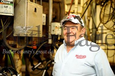 Craig Marburger, owner of Marburger Farm. 04/09/20 Seb Foltz/Butler Eagle