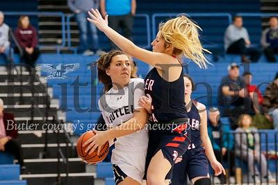 Butler vs Shaler Girls Basketball