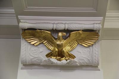 Butler Eagle ornament inside the Eagle office lobby. Lauryn Halahurich/Butler Eagle 2019