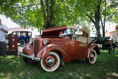 Antique car show