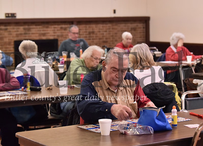 Bingo feature  at Tanglewood in Butler