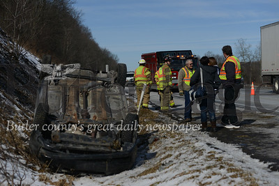 No injuries were reported in a rollover crash on route 79 southbound at mile marker 91. The vehicle was traveling southbound on route 79 when the motorist lost control, sending the vehicle off the road and into its roof. The driver declined medical transport and responders said any injuries would be minor. Traffic is slowed to one lane and motorists should expect delays. No further details were immediately available.