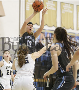 Butler vs Seneca Valley Girls Basketball
