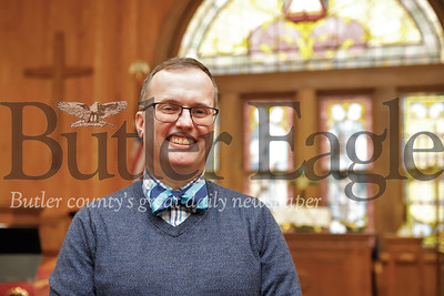 Rev. John Nelson, pastor at Park United Presbyterian Church in Zelineople. Seb Foltz/Butler Eagle