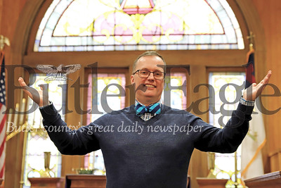 Rev. John Nelson is the new pastor at Park United Presbyterian Church in Zelineople. Seb Foltz/Butler Eagle