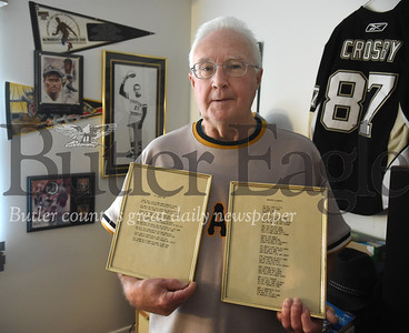 15310 Jim O'Friel from Cranberry Twp has two poems about Roberto Clemente in the Baseball Hall of Fame
