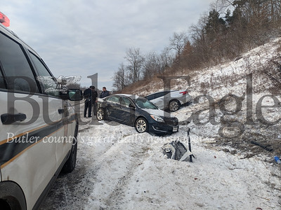 No one was injured in a two vehicle crash on Interstate 79 North near mile marker 82 Tuesday morning.Traffic was slowed to one lane as responders worked to clear the scene and interview motorists. No further details were immediately available. Both Lanes are now open to traffic.