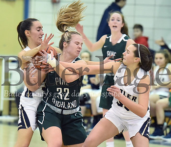 15084 Butler vs Pine Richland in a section girls basketball game at Butler High School