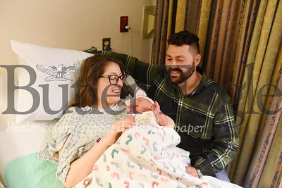 Harold Aughton/Butler Eagle: A baby girl weighing 6 pounds, 9 ounces was born to Rachel and Timothy Smith of Butler, at 7:38 a.m. Thursday, January 2, 2020 in the Butler Hospital.