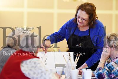 Harold Aughton/Butler Eagle: Dorothy Weisberg, manager of the Evans City senior center.