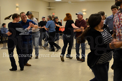 About 100 people went to the Harrisville Volunteer Fire Company's January square dance. Tanner Cole/Butler Eagle