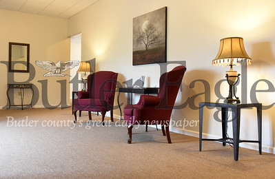 Harold Aughton/Butler Eagle: Spencer D. Geibel opens new funeral home in along New Castle Road.
