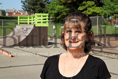 Father Marinaro Park story: Area resident  and park volunteer organizer Cindy Parker. Seb Foltz/Butler Eagle