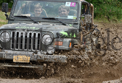 Harold Aughton/Butler Eagle: Harold Aughton/Butler Eagle: Jeep enthusiasts from New York take on the mud pit at the 9th Annual Bantham Jeep Heritage Festival Saturday, June 8.