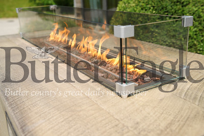 Music City tabletop gas fireplace from Martin Sales and Service. Seb Foltz/Butler Eagle