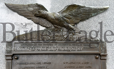 Harold Aughton/Butler Eagle: Zelienople Veterans Memorial