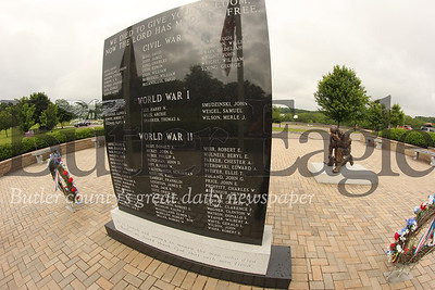 Adams War Memorial in Adams Township Community Park. 698 Valencia Rd, Mars, PA  Seb Foltz/Butler Eagle