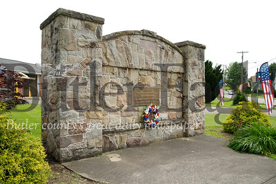 West Sunbury war memorial. West Sunbury, PA. Seb Foltz/Butler Eagle