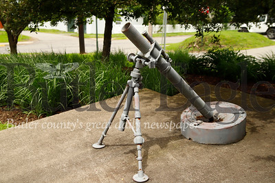 Slippery Rock Memorial Park includes a mortar displayed at the back of the park. Seb Foltz/Butler Eagle