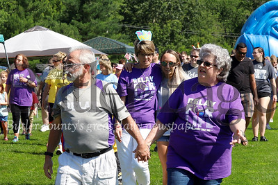 Cancer survivors,their friends and love ones were in North Boundary Park walking for Relay For Life Saturday. Seb Foltz/Butler Eagle