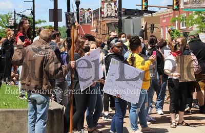 Butler Black Lives Matter/George Floyd protests 05/31/20 Seb Foltz/Butler Eagle