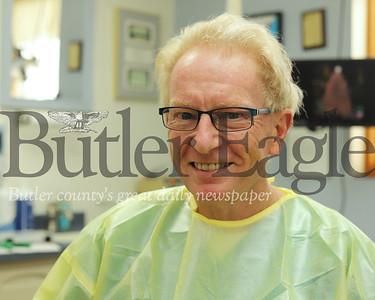 Dr. Bob Todd of Butler Smiles Dental Care. Seb Foltz/Butler Eagle