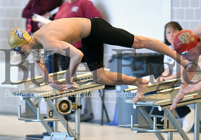 WPIAL AAA Swimming Championships at University of Pittsburgh Trees Pool