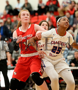 86419 - Slippery Rock vs Chartiers Valley Girls PIAA 5A Playoff Basketball