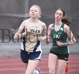 Junior Chelsey Kabel took first place in the 1600 meters.