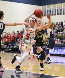 Freeport vs North Catholic Girls Basketball State Playoffs