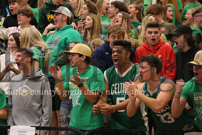 Butler fans celebrate a game tying shot in the closing seconds of Saturday's game against Central Dauphin. Seb Foltz/Butler Eagle