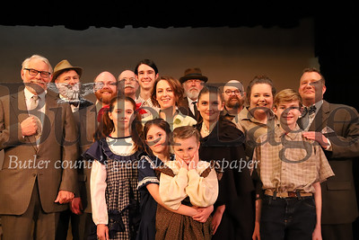 "Cast of Butler Little Theatre's production of ""Our Town."" Seb Foltz/Butler Eagle"