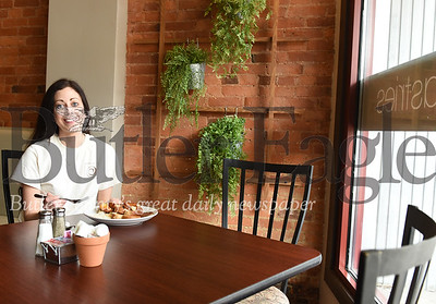 Harold Aughton/Butler Eagle: Theresa Crouse opened a new resturant in Butler at 232 S. Main St. called Cannella Cafe.