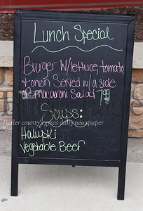 Harold Aughton/Butler Eagle: Cannella Cafe