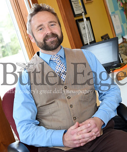Harold Aughton/Butler Eagle: Shawn Davis is an assistant professor in Slippery Rock University's Department of Parks Conservation and Recreational Therapy.