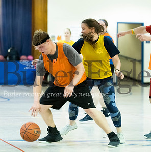 Special Olympics Athletes vs Law Enforcement basketball